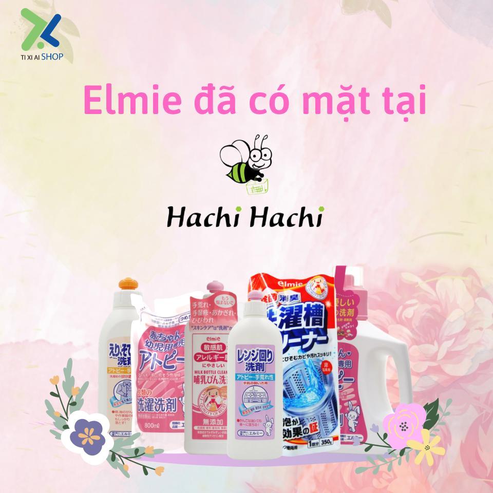 Elmie đã có mặt tại chuỗi siêu thị Hachi Hachi