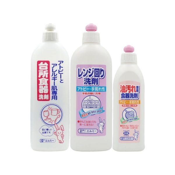 nước vệ sinh bếp & nước rửa chén & nước rửa dụng cụ nấu nướng dành cho da thường, da nhạy cảm, da khô